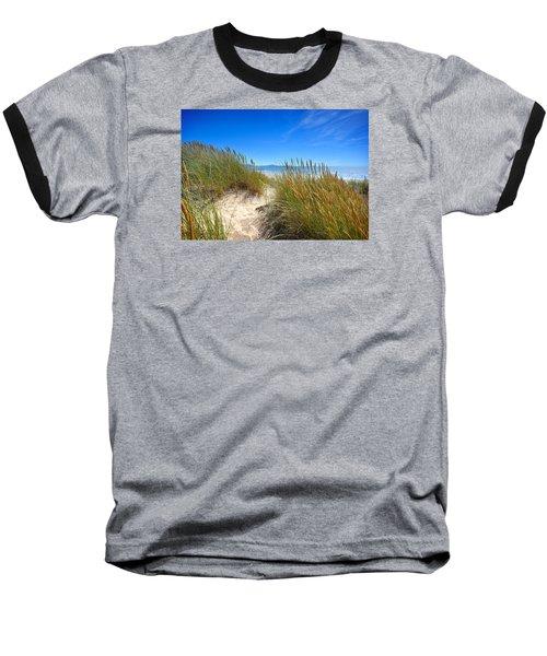 Cefn Sidan Beach 2 Baseball T-Shirt