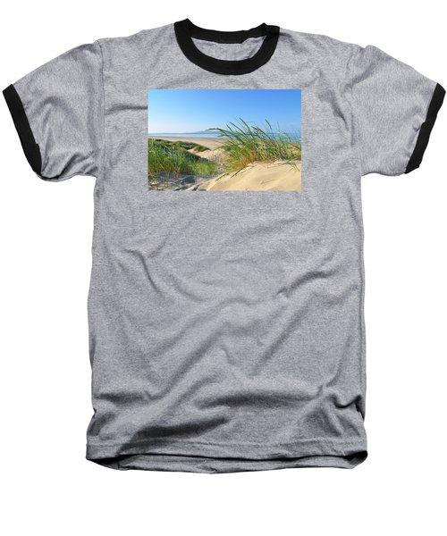 Cefn Sidan Beach 4 Baseball T-Shirt