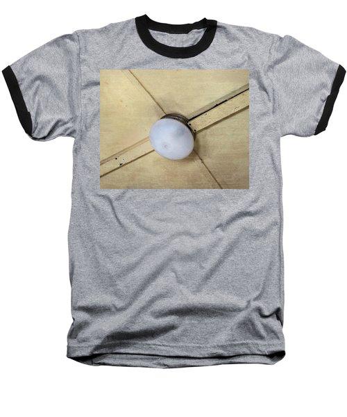 Ceiling Light On Antique Train Baseball T-Shirt