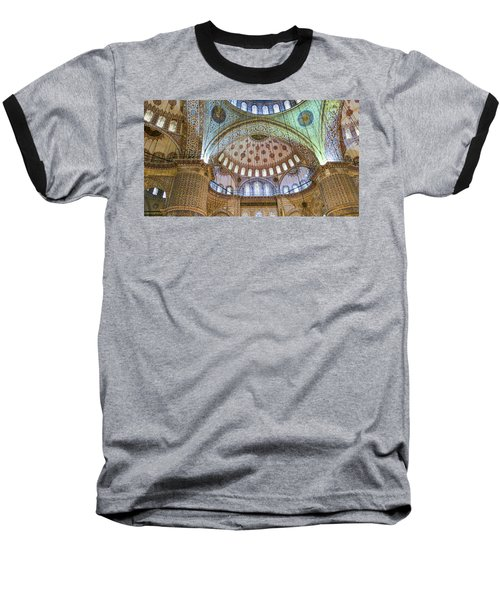 Ceiling Of Blue Mosque Baseball T-Shirt