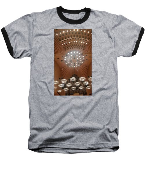 Ceiling Of Syndey Opera House Symphony Hall Baseball T-Shirt by Bev Conover
