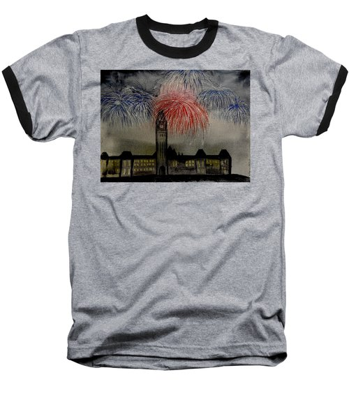 Celebrate Baseball T-Shirt by Betty-Anne McDonald