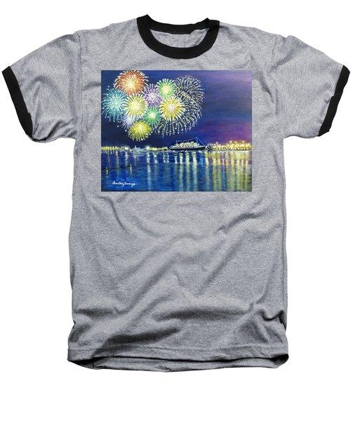 Celebrating In The Lbc Baseball T-Shirt