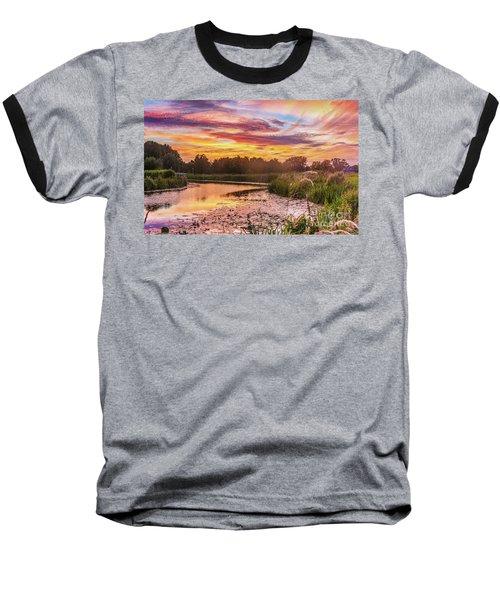 Celebrating Sky Baseball T-Shirt