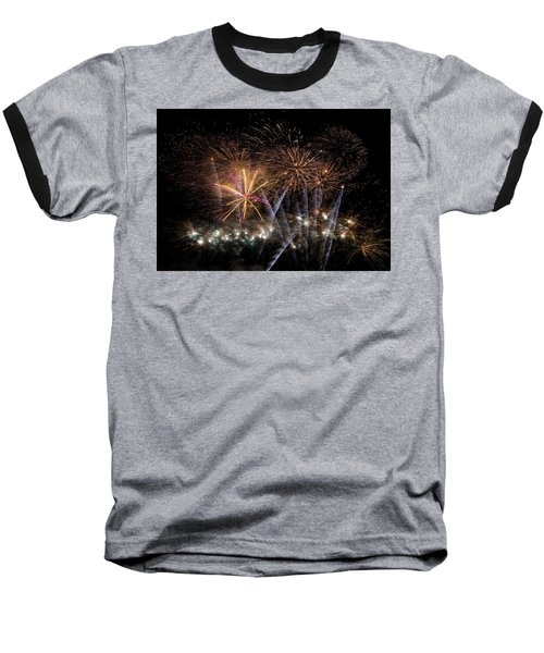 Baseball T-Shirt featuring the photograph Celebration by Alex Lapidus