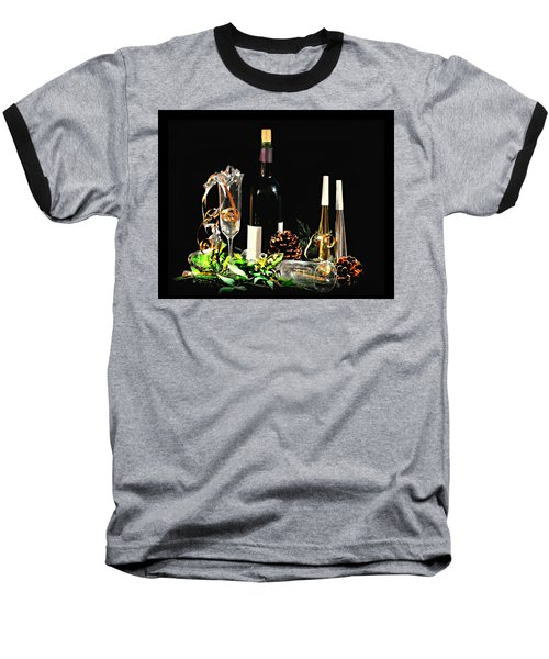 Baseball T-Shirt featuring the photograph Celebration by Diana Angstadt