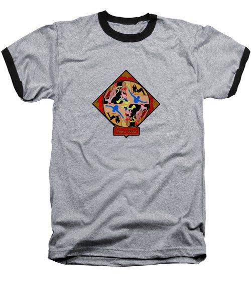 Celebrity Shapes Baseball T-Shirt