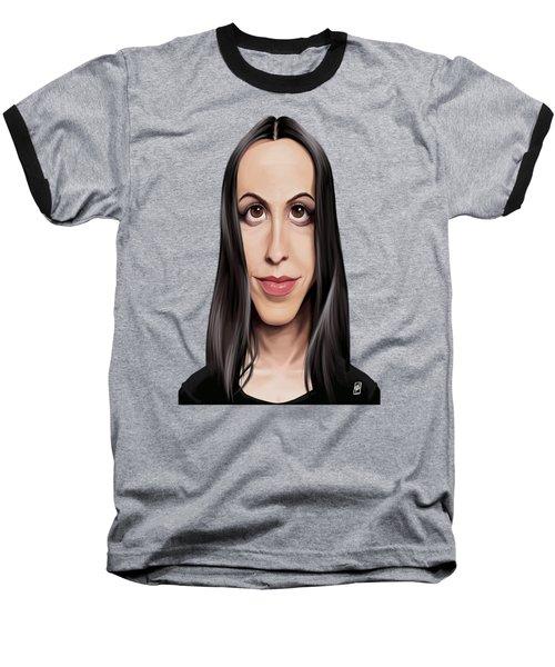 Celebrity Sunday - Alanis Morissette Baseball T-Shirt