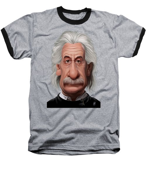 Celebrity Sunday - Albert Einstein Baseball T-Shirt