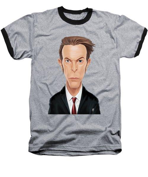 Celebrity Sunday - David Bowie Baseball T-Shirt