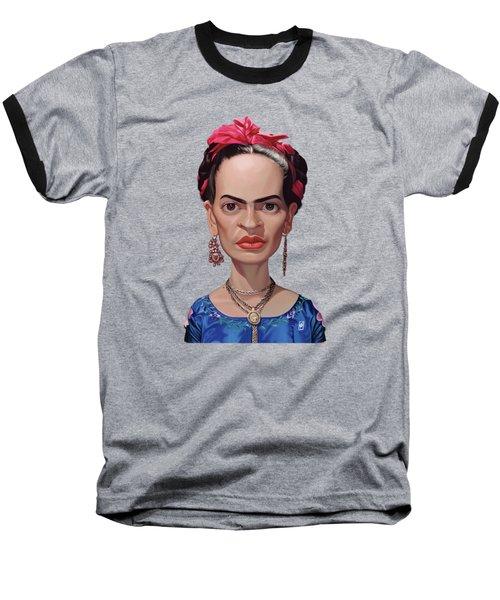 Celebrity Sunday - Frida Kahlo Baseball T-Shirt