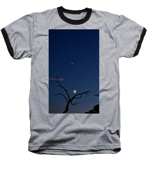 Celestial Alignment Baseball T-Shirt