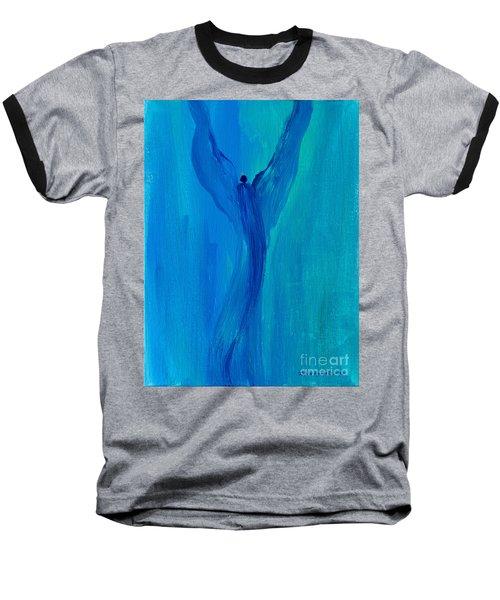 Celestial Angel Baseball T-Shirt