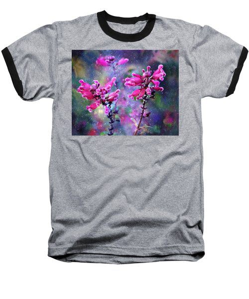 Celestial Blooms-2 Baseball T-Shirt by Kathy M Krause
