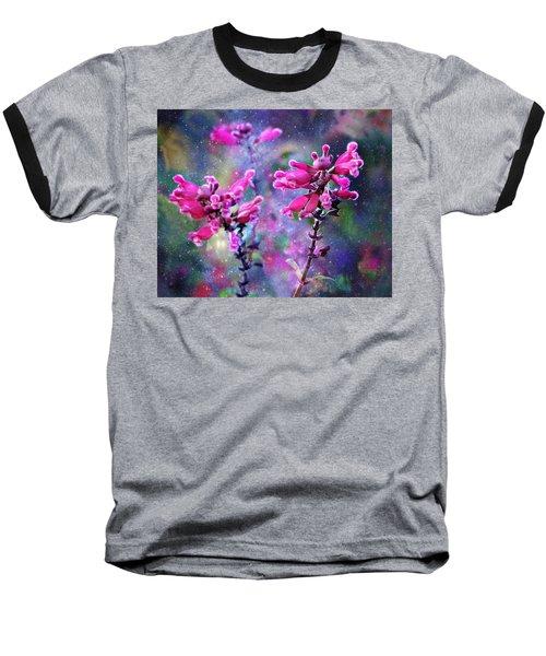 Celestial Blooms-2 Baseball T-Shirt