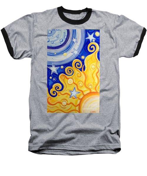 Celestial  Baseball T-Shirt