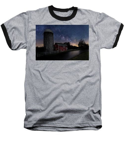 Baseball T-Shirt featuring the photograph Celestial Farm by Bill Wakeley