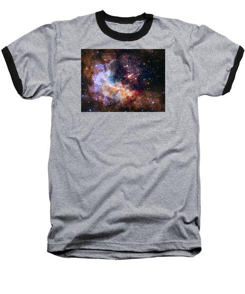 Celebrating Hubble's 25th Anniversary Baseball T-Shirt by Nasa