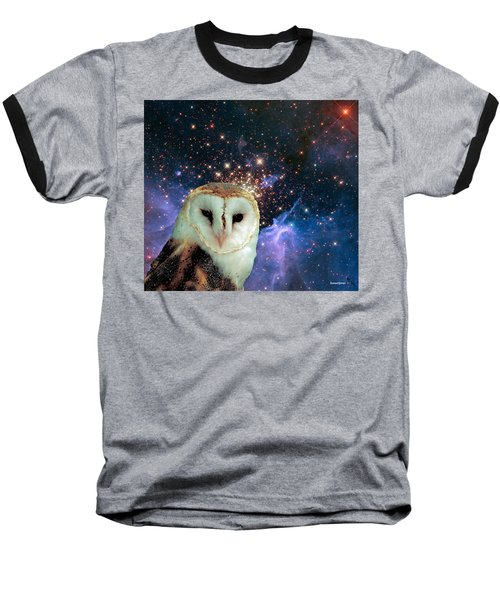 Celestial Nights Baseball T-Shirt by Robert Orinski