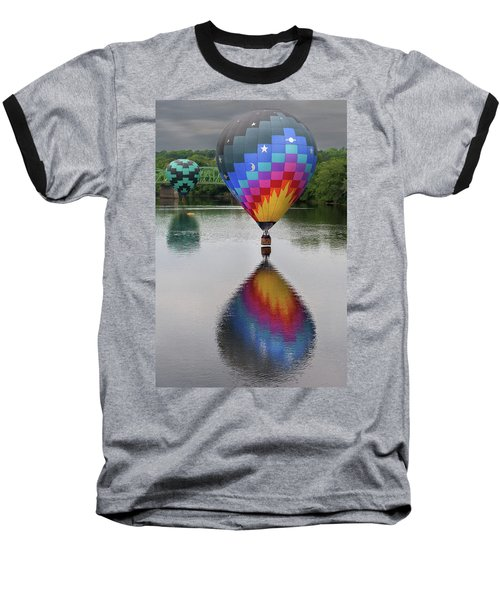 Celestial Reflections Baseball T-Shirt