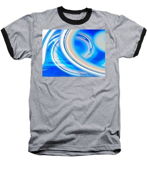 Baseball T-Shirt featuring the photograph Celestial Rings by Shawna Rowe