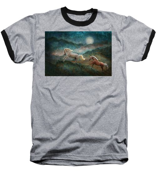 Celestial Stallions Baseball T-Shirt