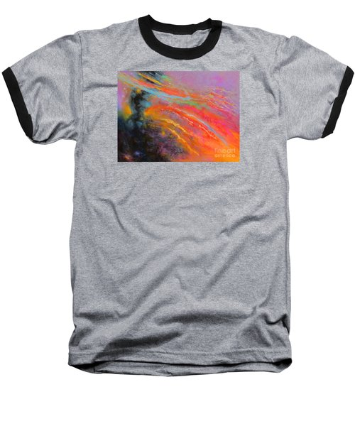 Fantasies In Space Series Painting. Celestial Symphony Baseball T-Shirt