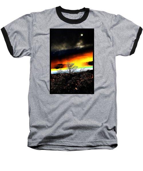 Baseball T-Shirt featuring the photograph Celestial Tsunamis by Susanne Still