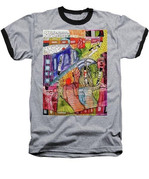 Celestial Windows Baseball T-Shirt
