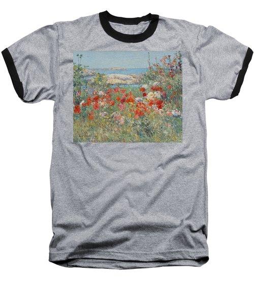 Celia Thaxter's Garden, Isles Of Shoals, Maine Baseball T-Shirt