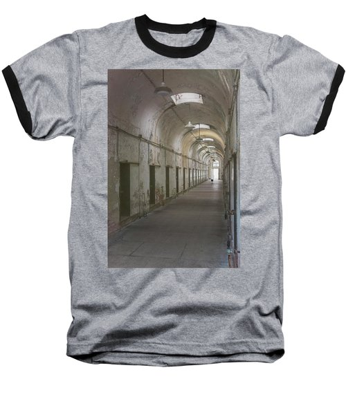 Cellblock Hallway Baseball T-Shirt