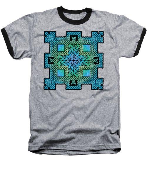 Celtic Castle Baseball T-Shirt