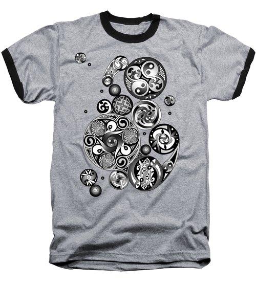 Celtic Clockwork Baseball T-Shirt