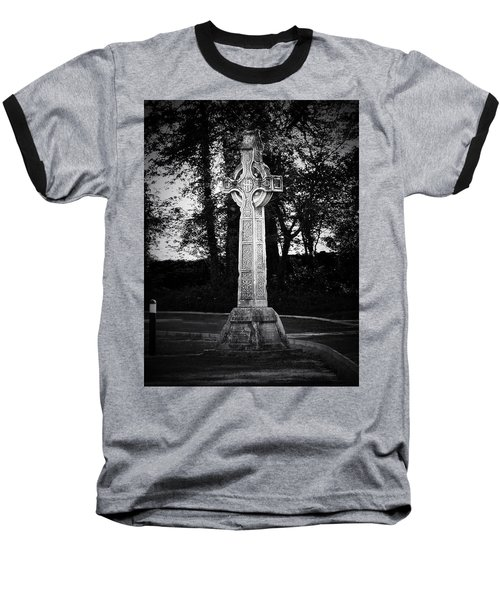 Celtic Cross In Killarney Ireland Baseball T-Shirt