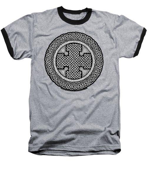 Celtic Cross Baseball T-Shirt