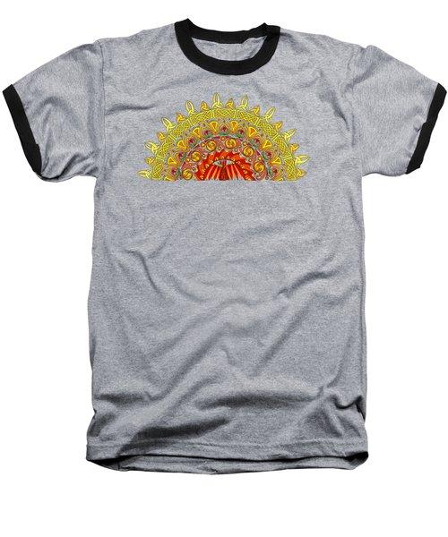 Celtic Dawn Baseball T-Shirt by Kristen Fox
