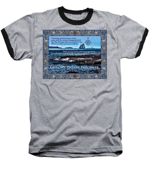 Celtic Explorer - Bluenose II In Halifax Harbour Baseball T-Shirt