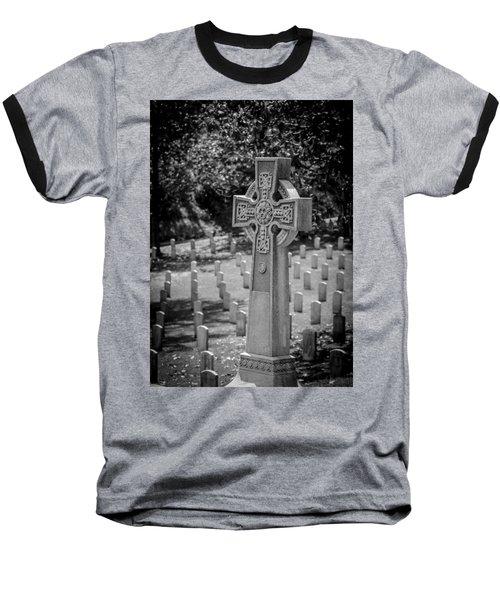 Celtic Grave Baseball T-Shirt