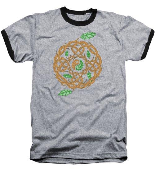 Celtic Nature Yin Yang Baseball T-Shirt