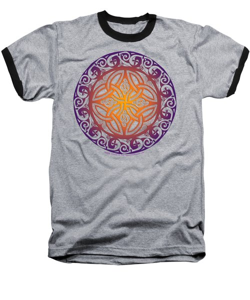 Celtic Shield Baseball T-Shirt