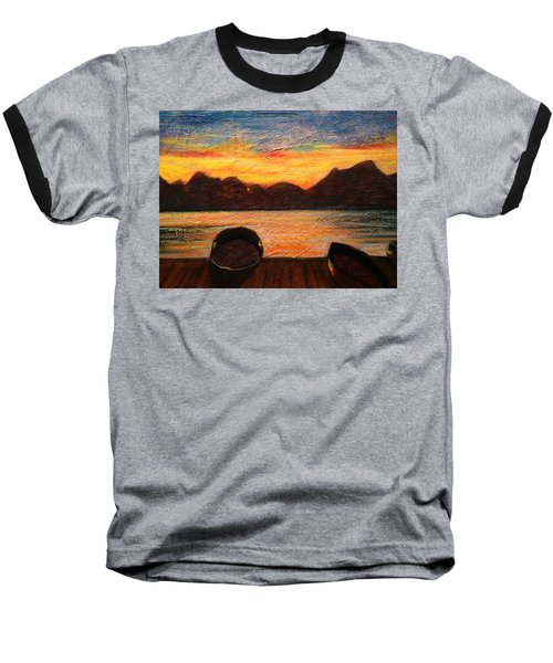 Celtic Sunset Baseball T-Shirt