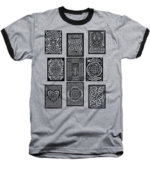 Celtic Tarot Spread Baseball T-Shirt
