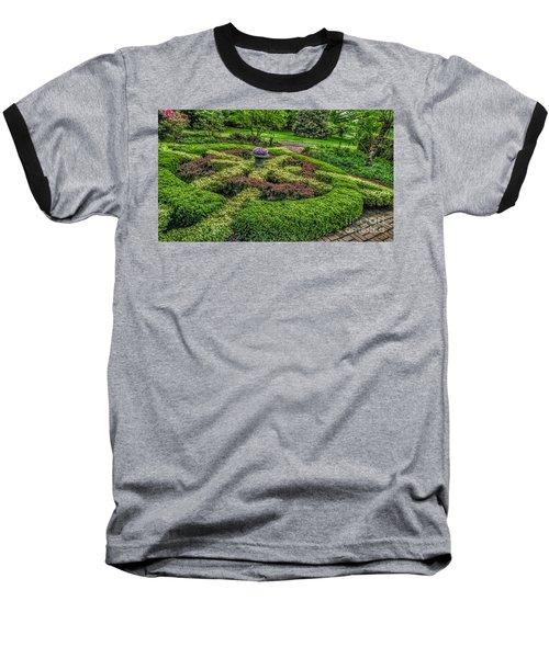Celtic Topiary At Frelinghuysen Arboretum Baseball T-Shirt