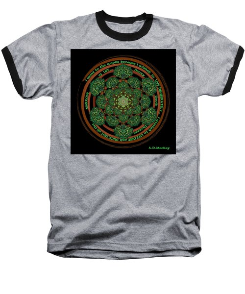Celtic Tree Of Life Mandala Baseball T-Shirt