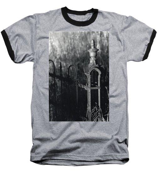 Cemetery  Fence Baseball T-Shirt