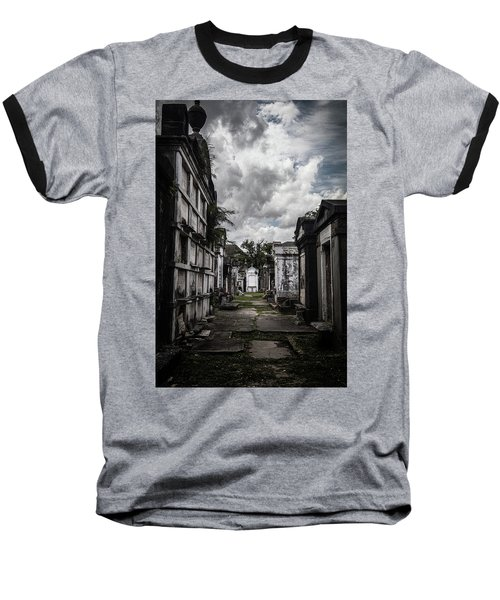 Cemetery Row Baseball T-Shirt