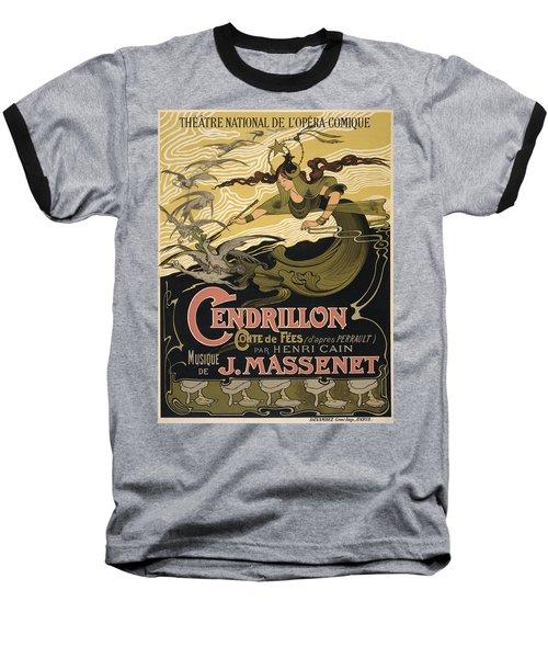 Cendrillon Poster 1899 Baseball T-Shirt