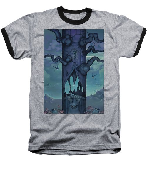 Cenotaph Baseball T-Shirt by Andrew Batcheller