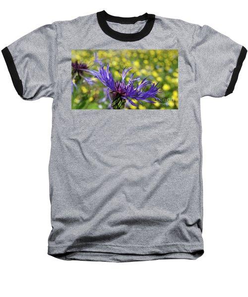 Centaurea Montana Flower Baseball T-Shirt