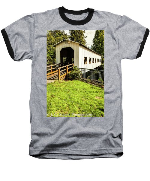 Centennial Bridge Baseball T-Shirt